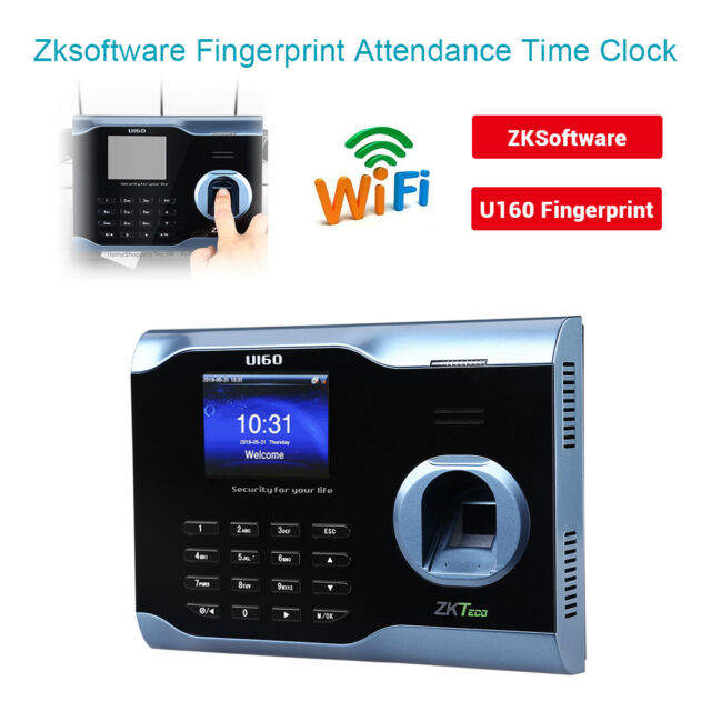 Biometric Fingerprint Time Attendance Clock Recorder Employee Digital  Electronic