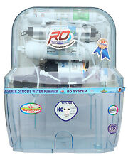 R.K AQUA FRESH INDIA AZ-14STAGE 15LTRS TRANSPARENT RO WATER PURIFIER 15lTRS TANK