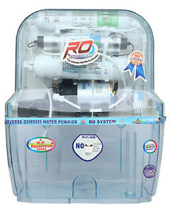 R.K AQUA FRESH INDIA AZ-14STAGE 15LTRS TRANSPARENT TECHNOLOGY RO WATER PURIFIER