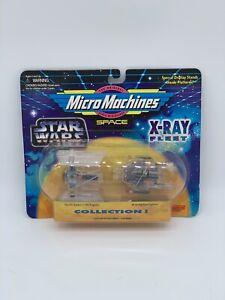 Star Wars Micro Machine Darth Vader's TIE Fighter-A Wing Starfighter X-Ray Fleet