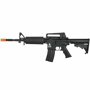 Lancer-Tactical-Black-Polymer-Metal-Gen-2-M4A1-AEG-Metal-Gear-AEG-Airsoft-Rifle