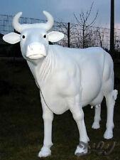 KUH ZENZI ROHLING lebensgroß GLATT Deko Garten Tier Figur BAUERNHOF Dekoration