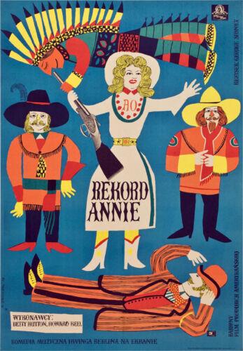 Annie get your gun Betty Hutton movie poster #2