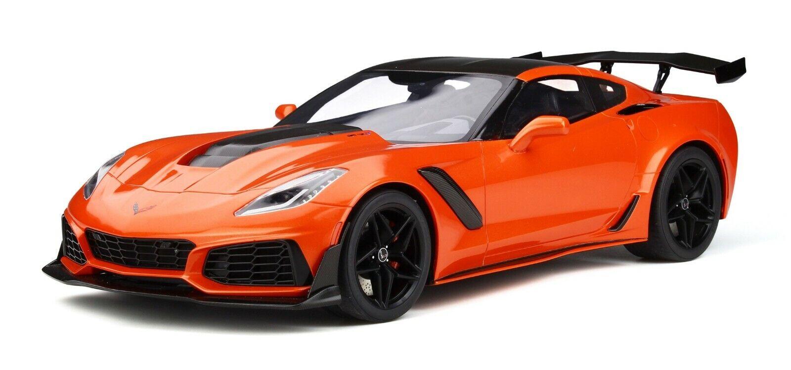 Chevrolet  Corvette ZR1 Sebbague  Orange  GT246  Limicravatert  GT Spirit  1 12  NEU  édition limitée chaude