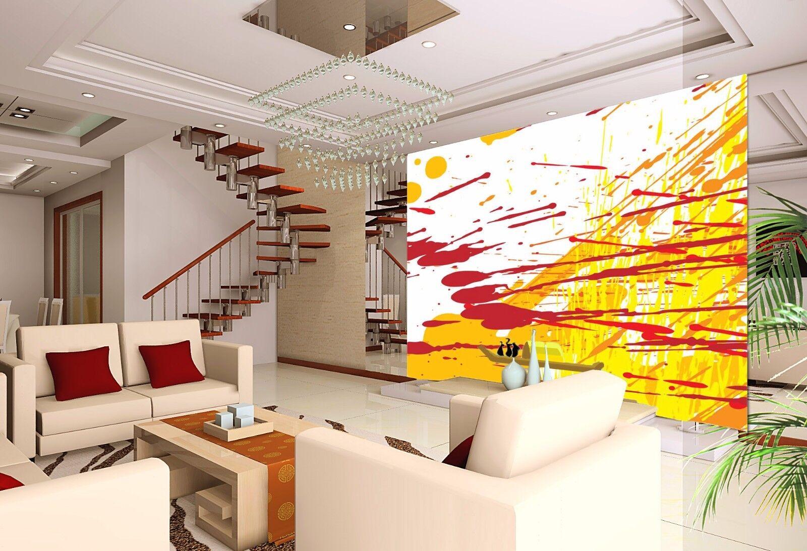 3D Gekritzel-Aquarell 8 Tapete Wandgemälde Tapete Tapeten Bild Familie DE Summer