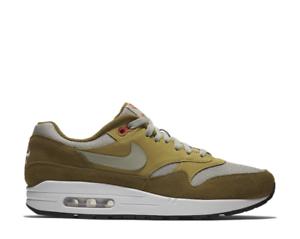 finest selection c3a7b 189bd Men s Nike Air Max 1 Premium Retro Green Curry Athletic Fashion 908366 300