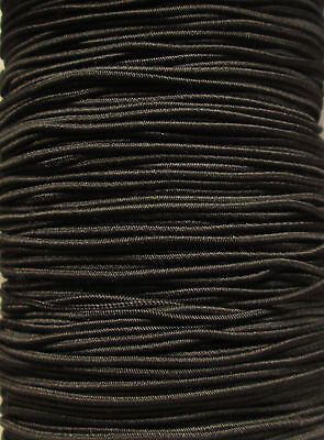 5 METRES 1MM ROUND ELASTIC  BEADING HAT ELASTIC 11 COLOURS TO CHOOSE FROM