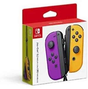 Joy-Con (L) Neon Purple / (R) Neon Orange | Peripherals and Accessories game