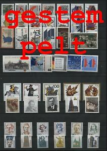 Allemagne-Federal-Rfa-Vintage-Yearset-1989-Timbres-Used-Complet