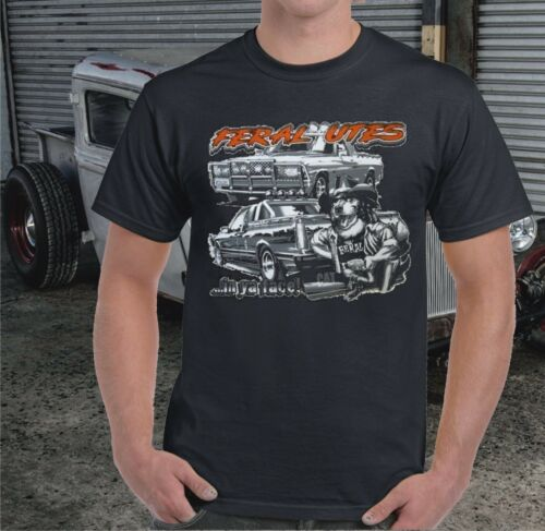 HOLDEN FORD FERAL UTES T-SHIRT