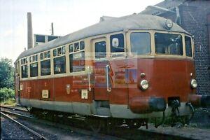 Dia / slide Schleswiger Kreisbahn VKS incl. (c): Triebwagen VT 2 AEG 1974 K124
