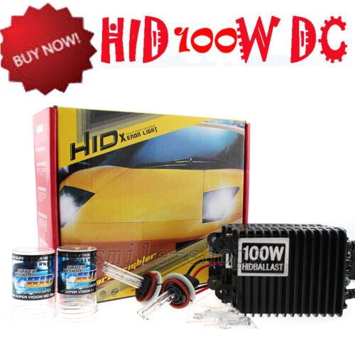 55W//75W//100W HID Headlight Conversion Kit 880 9005 9006 H1 H4 H7 H3 H11 H13 5202