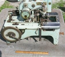 Vintage Reece Model 101 Buttonhole Industrial Sewing Machine For Repair 2