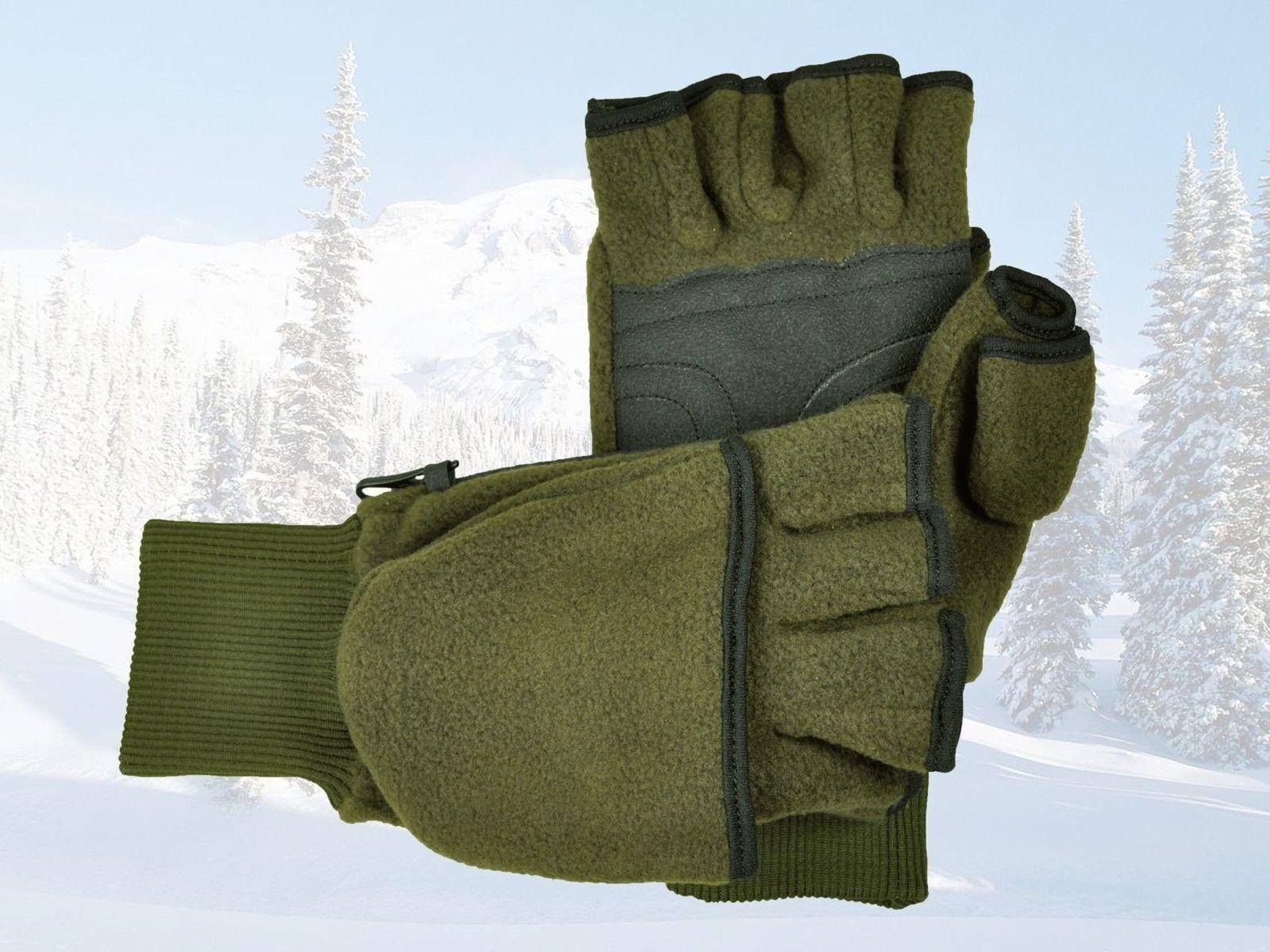 Skogen Fleece caza guantes guantes de skogen