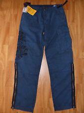 Neue GUESS Herren Cargo Jeans Hose Gr.W31/L34 Stickerei blau Camoflage NEU/OVP