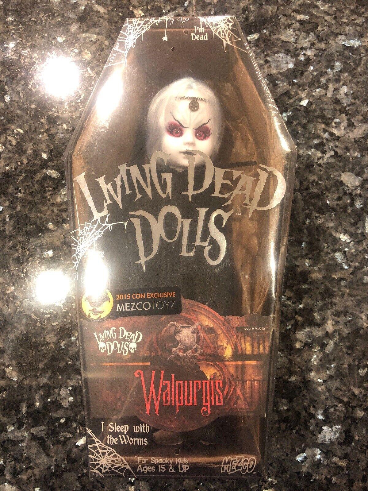 Living Dead Dolls resurrección Walpurgis con Exclusive Sellado Envío Gratis