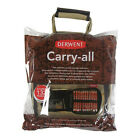 Derwent Carry-All Canvas Bag 132 Pencil plus Accessory and Sketchbook Storage C