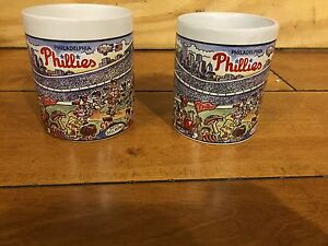 2-1993-WORLD-SERIES-PHILADELPHIA-PHILLIES-Ceramic-Coffee-Mug-NEW