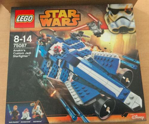 BOITE SET LEGO STAR WARS VAISSEAU ANAKIN/'S JEDI STARFIGHTER  NEUF SCELLÉE 75087