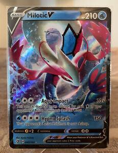 ULTRA RARE 043//192 Pokemon Card NM//MT Milotic V Rebel Clash