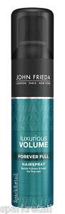 John-Frieda-Luxurious-Volume-FOREVER-FULL-Hairspray-250ml-Volumising-Hair-Spray