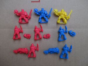D11C18 SCOUT SPACE MARINE x8 + BITS WARHAMMER 40000 W40K USED
