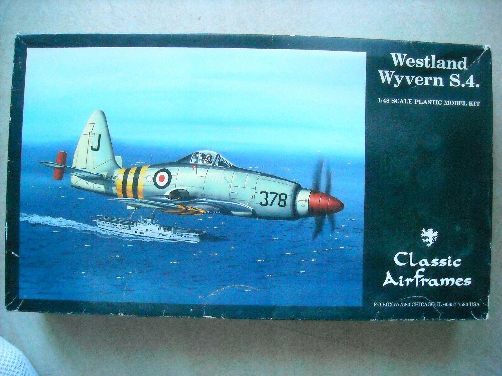 CLASSIC AIRFRAMES-1 48-WESTLAND WYVERN S.4