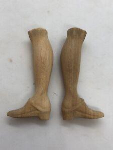 Coppia-piedi-scarpe-statue-wood-Foott-restauro-pastori-statua-4-2-Cm-pianta