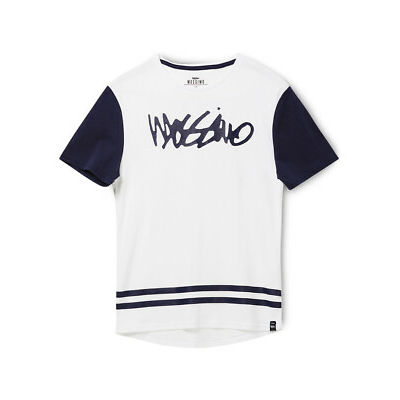 NEW Mossimo Boys Birk Drop Tee 8-16 White