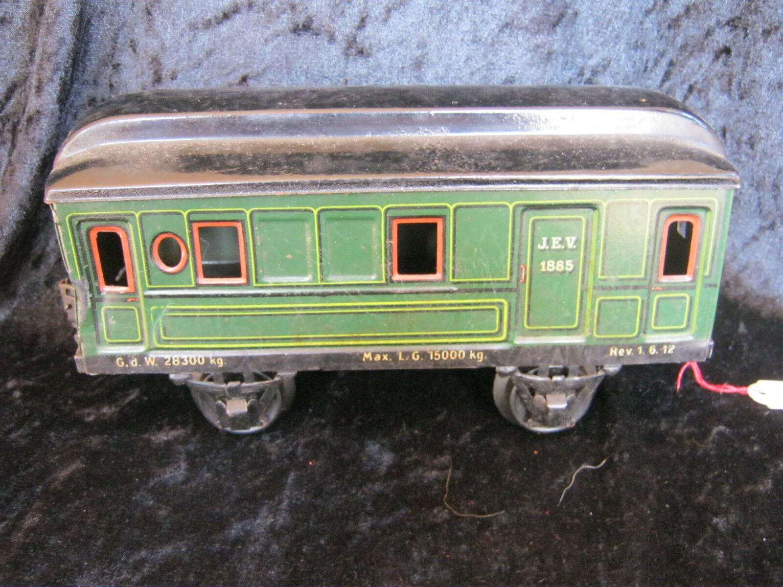 Spur 1 Personenwagen 1885 von Märklin 20er Jahre rare Märklin gauge 1 Wagon