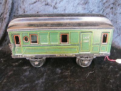 Aroma Aufstrebend Spur 1 Personenwagen 1885 Von Märklin Rare Märklin Gauge 1 Wagon Duftendes 20er Jahre In