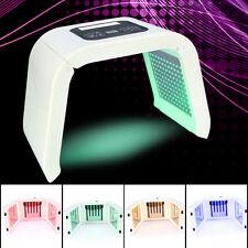 4 Color LED Light Photodynamics Mask Skin Rejuvenation Photon PDT Anti Aging Spa