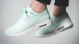 Details about Nike air max 1 Ultra Moire women' Mint Fiberglass White 90 95 OG Thea size 11 US