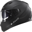 LS2-FF320-STREAM-EVO-MATT-BLACK-DUAL-VISOR-PINLOCK-FULL-FACE-MOTORCYCLE-HELMET miniature 6