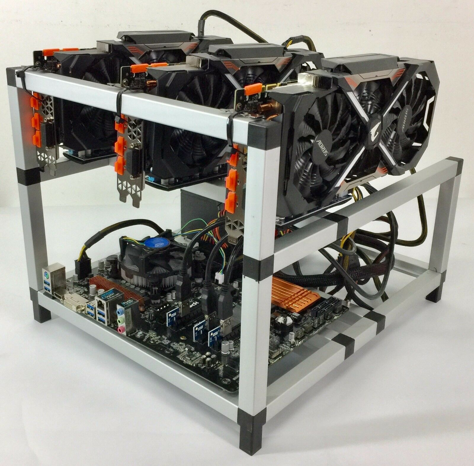 Details about Crypto Coin GPU Mining Rig Raven Grin Beam Ethereum ETH  Bitcoin 3x GTX 1080Ti