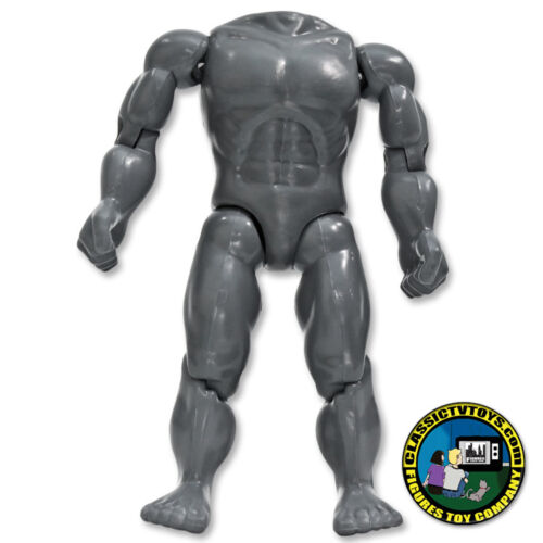 8 inch Muscular Grey Body Retro Scale