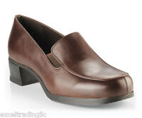 SFC Shoes for Crews Envy II Brown Leather Women's 3114 Size 8 / 38.5 $59