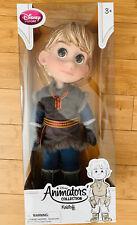"NEW Disney Designer Animators Collection 16/"" Toddler Doll Frozen Kristoff New"