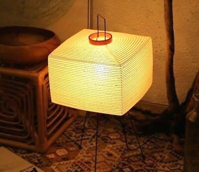 Isamu Noguchi Ozeki AKARI 1N Lamp Shade Only Japanese Style Stand Light F//S New