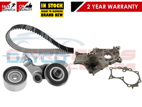 FOR TOYOTA AVENSIS COROLLA VERSO 2.0 D4D CAM TIMING BELT KIT WATER PUMP ICDFTV