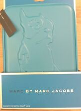 BNIB Marc by Marc Jacobs iPad Mini Mens Women Folio Case Boston Terrier Dog.