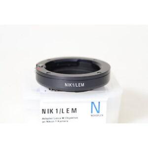 Novoflex-nik1-lem-Leica-R-objetivamente-adaptador-Nikon-1