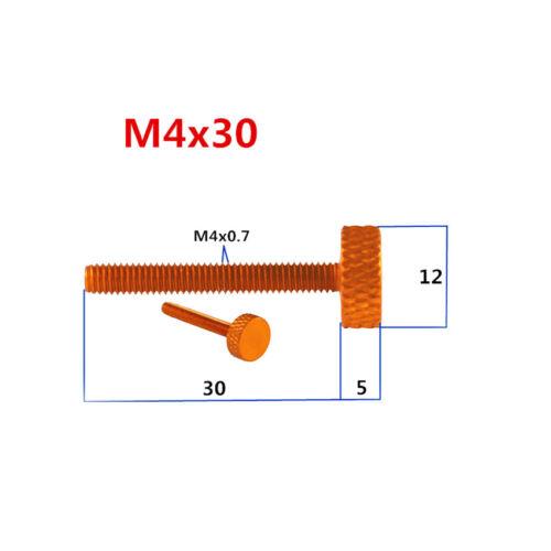 M4*25mm M4*30mm Rändelschraube Rändelschrauben M4 Computergehäuseschraube