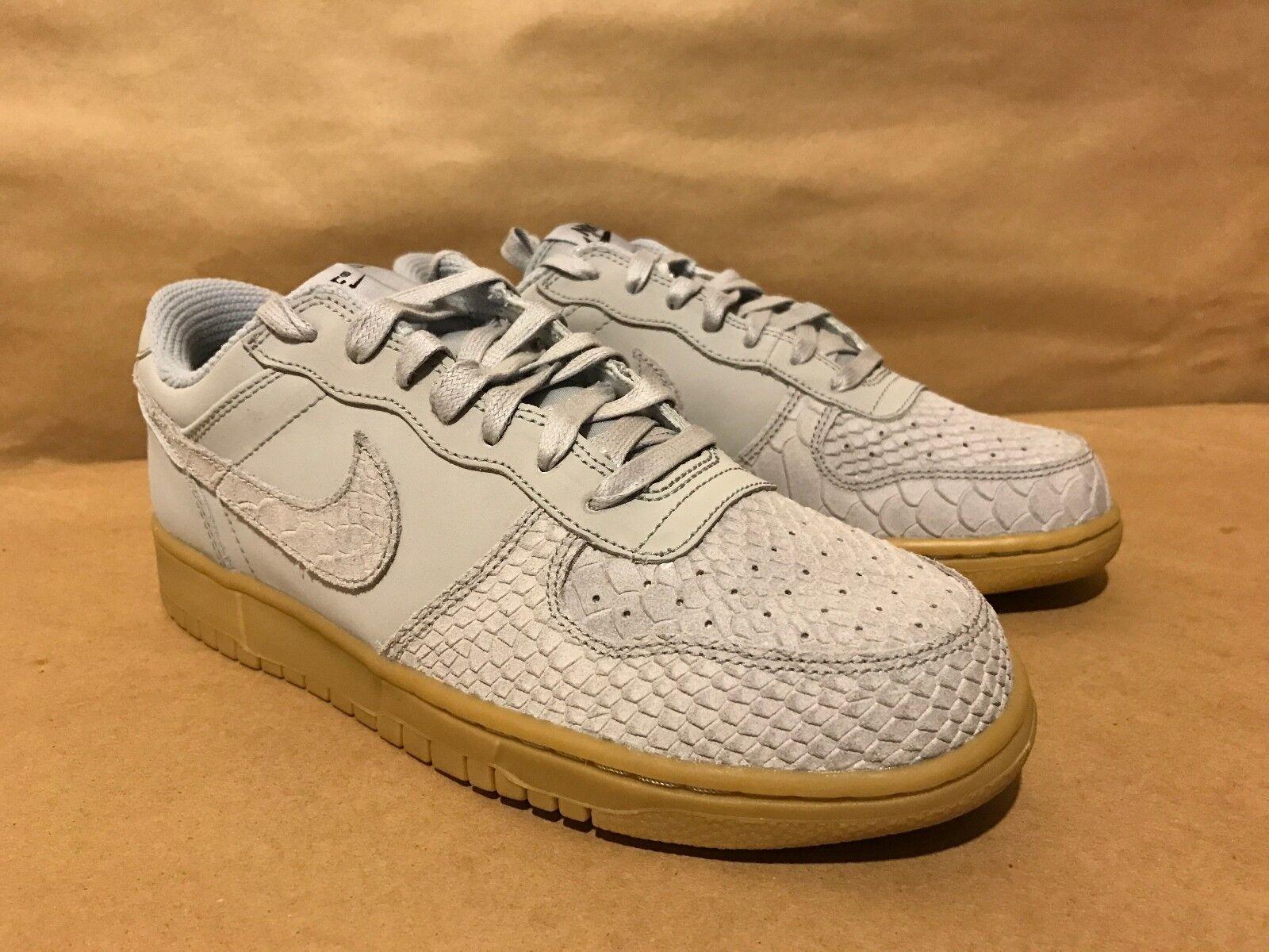 Big Nike Low Lux Wolf Grey/Wolf Grey-Gum Light Sizes 8-12 NIB