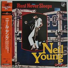 Neil YOUNG  & Crazy Horse  Rust Never Sleeps  Concert  JAPAN  Laserdisc Edition