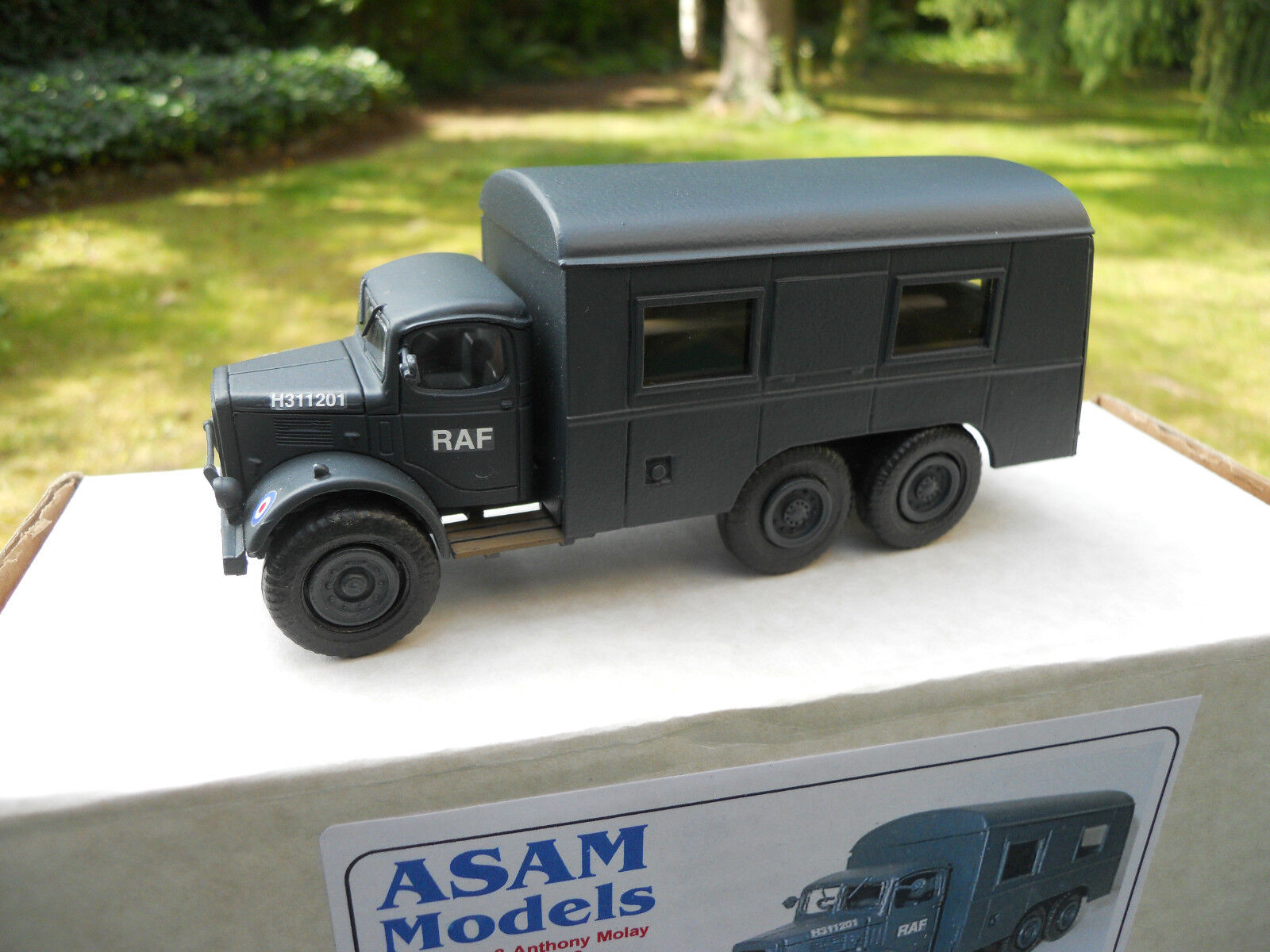 Vehicle Military Asam Models Ref HT 279 Austin K6 6X4 Royal Air Force ( Raf) ®