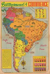 1939-Romer-Pictorial-Resource-Map-of-South-America