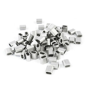 Aluminium Pressklemmen Presshülsen Drahtseilklemmen Seilklemmen Hülsen Klemmen A