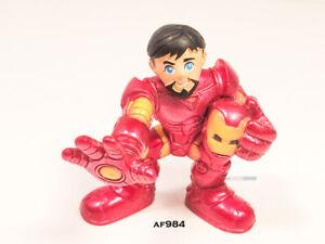 Iron Man Tony Stark Marvel Super Hero Squad Figure Playskool Heroes