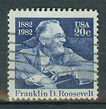 Briefmarken USA 1982 Franklin Roosevelt Mi.Nr.1527